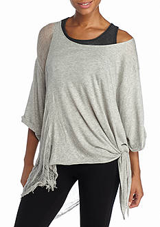 Free People movement Shredded Tee
