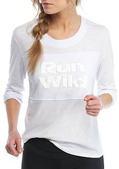 Free People Long Sleeve Run Wild Graphic Tee