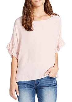 WILLIAM RAST™ Jett Ruffle Sleeve Top