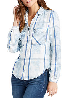 WILLIAM RAST™ Joplin Chambray Blouse