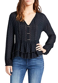 WILLIAM RAST™ Devon Long Sleeve Peasant Blouse