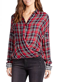 WILLIAM RAST™ Aster Crossfront Blouse