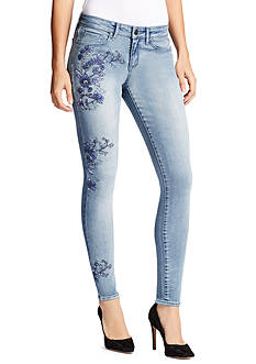 WILLIAM RAST™ Embroidered Perfect Skinny Jeans