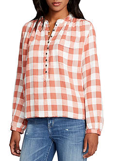 WILLIAM RAST™ Anatasia High Low Checked Popover