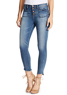 WILLIAM RAST™ High Rise Ankle Jeans