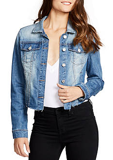WILLIAM RAST™ Sussex Cropped Denim Jacket