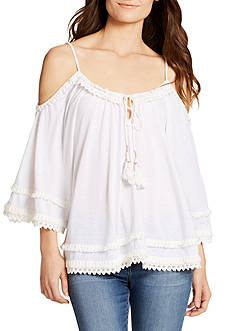 WILLIAM RAST™ Danae Cold Shoulder Top