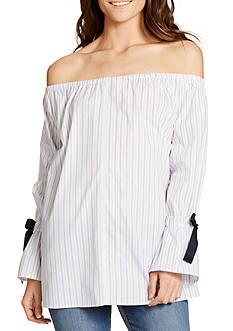 WILLIAM RAST™ Striped Belinda Off-the-Shoulder Top