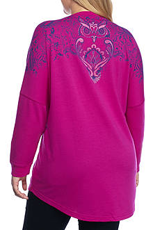 New Directions Weekend Plus Size Sweater