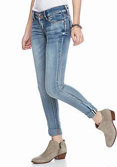 Red Camel Roll Cuff Girlfriend Rutgers Jeans