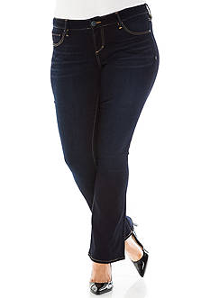 SLINK JEANS Plus Size Boot Cut Jeans