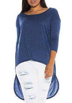 SLINK JEANS Plus Size High Low Tunic