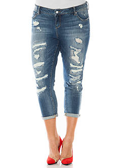 Plus Size Juniors Jeans: Boyfriend | Belk
