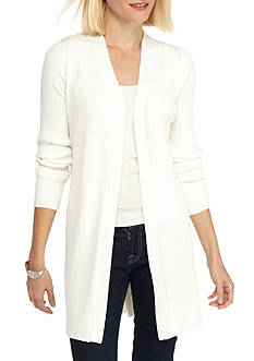 Kim Rogers The Ribbed Duster Cardigan