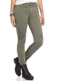 ASHLEY MASON Ashley Mason Olive Skinny Jean