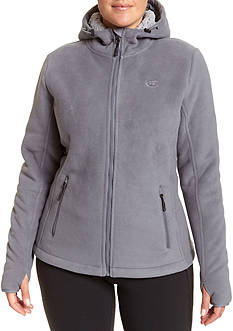 Champion Women's Plus warm, cozy anti pill bonded fleece