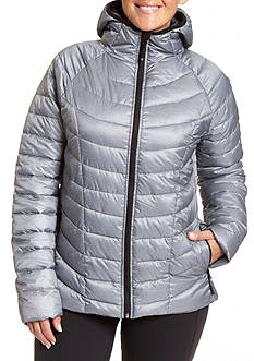 Champion Women's Plus featherweight insulated hoodie jacket