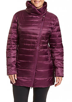Champion® Women's Plus Featherweight Insulated 3/4 Assymetrical  Jacket