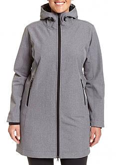 Champion Women's Plus hooded 3/4 Softshell
