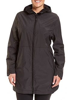 Champion Women's Plus technical 3/4 rain jacket