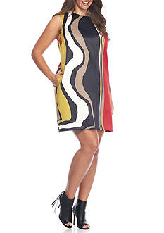 RACHEL Rachel Roy Plus Size Scarf Shift Dress