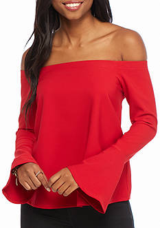 Basil & Lola Off The Shoulder Top