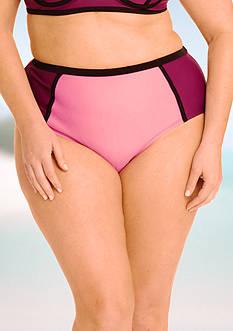 Paramour™ Plus Size High-Waist Bikini Bottom