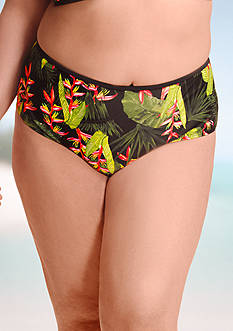 Paramour™ Plus Size High-Waist Mesh Swim Bottom