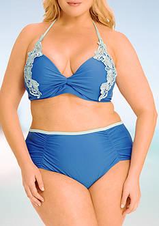 Paramour™ Plus Size High-Waist Swim Bottom