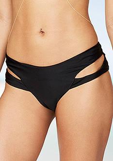 RACHEL Rachel Roy Multi Strap Swim Bottoms