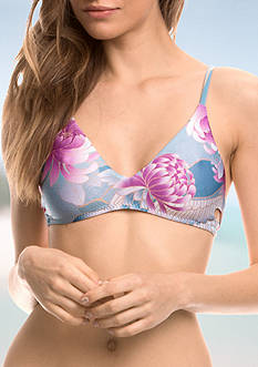 Isabella Rose Birds of a Feather Bralette Swim Top