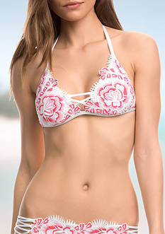 Isabella Rose Bouquet Triangle Swim Top
