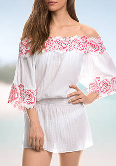 Isabella Rose Bouquet Tunic Swim Cover Up