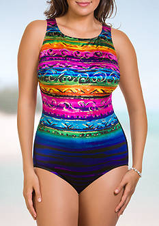 Longitude St. Lucia High Neck One-Piece Swimsuit