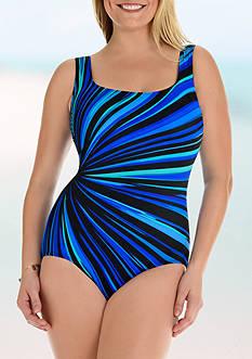 Longitude Zenon U-Back One Piece Swimsuit