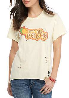 Mamie Ruth It's All Peachy Tee