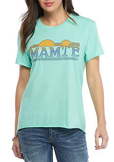 Mamie Ruth Mamie Logo Tee