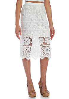 Wayf Newark Lace Skirt