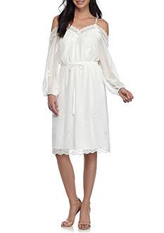 WAYF Cold Shoulder Dress