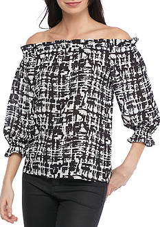 devlin Renee Off Shoulder Blouse