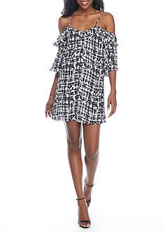 devlin Maddie Cold Shoulder Dress