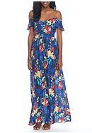 devlin Minnie Floral Maxi Dress