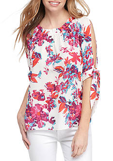 devlin Sienna Cold Shoulder Blouse
