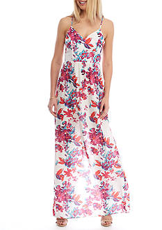 devlin Taylor Floral Maxi Dress
