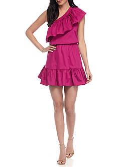 devlin Thea One Shoulder Dress