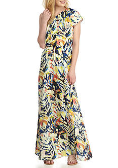 devlin Remy One Shoulder Maxi Dress