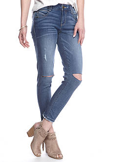 Democracy Fray Hem Jeggings