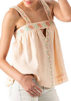 Banjara Embroidered Strap Cami