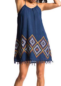Banjara Border Embroidered Halter Dress