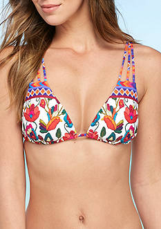 Nanette Lepore Antigua Vixen Bra Swim Top